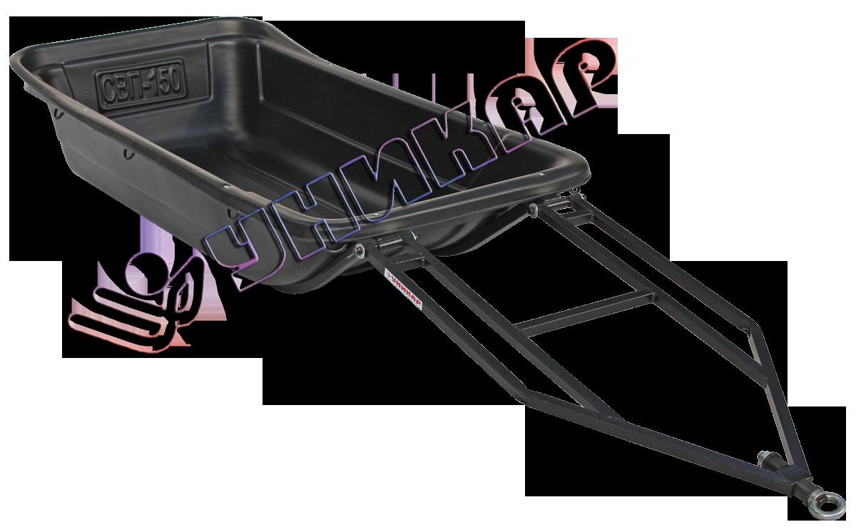 Волокуши С-150 без отбойника (на металлическом каркасе с полозьями)