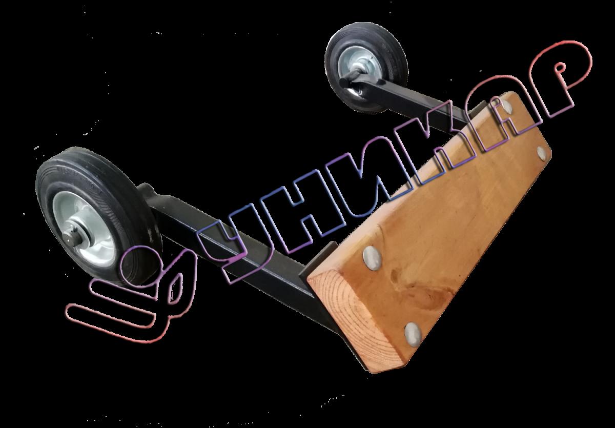 Подставка под транец для лодочного мотора (верхняя ручка к тележке)