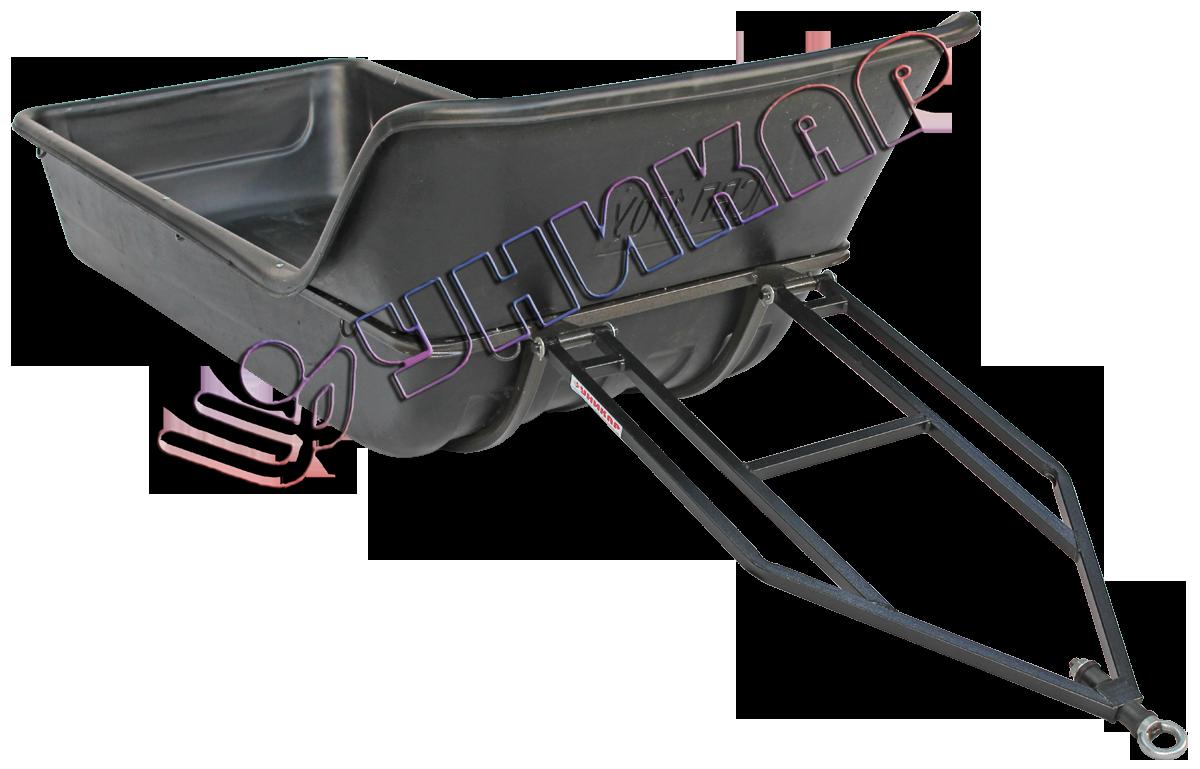 Волокуши С-170У с отбойником (на металлическом каркасе с полозьями)