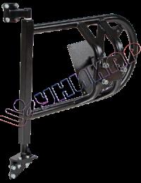 Кронштейн крепления запасного колеса (калитка) для УАЗ-469, 3151 Hunter
