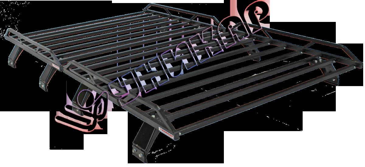 Багажник УАЗ 2206 Санитарка разборный на водостоки (комплект из 2 багажников)