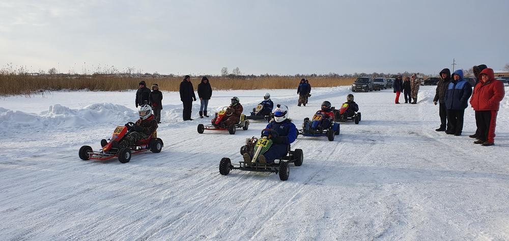 Зимние соревнования по картингу 1-й этап 2020 г.