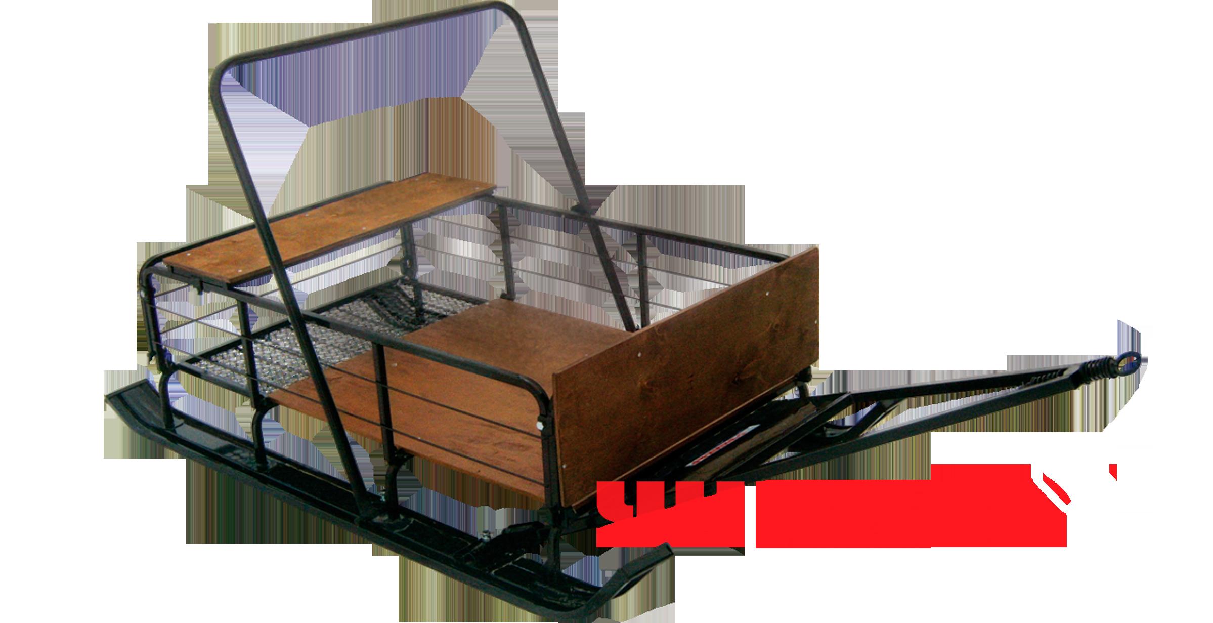 Сани С-131 (с широкой лыжной колеёй)