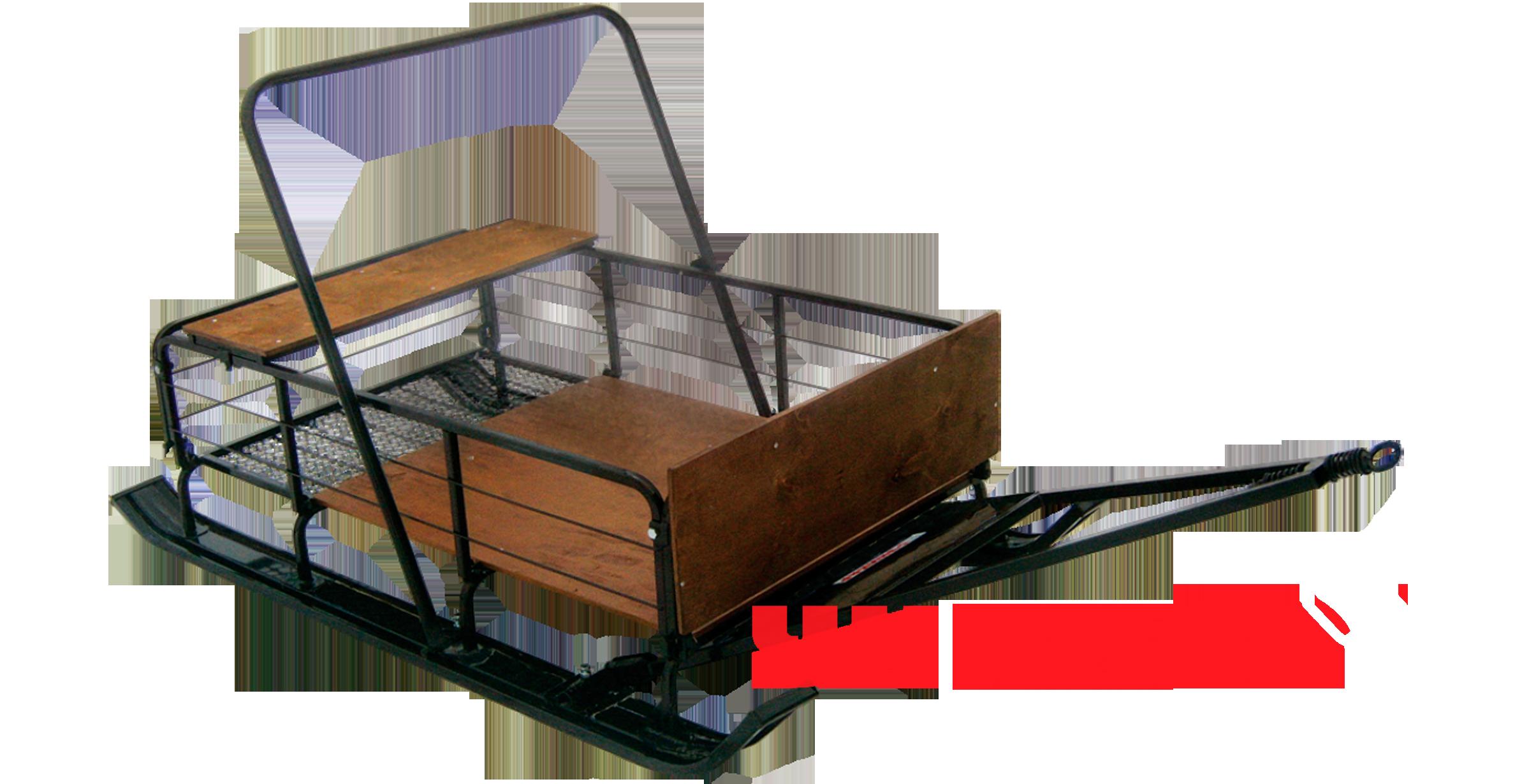 Сани С-131Р (с широкой колеей и с расширенной лыжей)