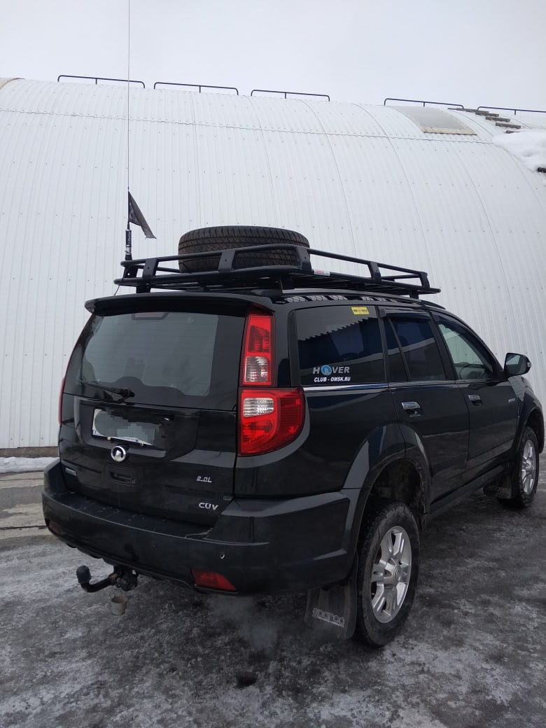Отзыв на багажник Hover H3 от нашего клиента из г. Омск