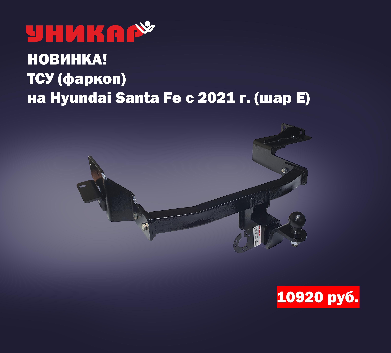 НОВИНКА В КАТЕГОРИИ «ТСУ»-Hyundai Santa Fe шар E (с 2021г.в.-…)